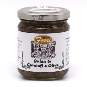 salsa di carciofi e olive